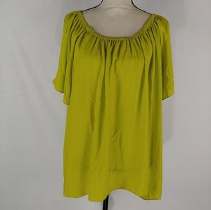 Vince Camuto Lime Green Top.Size 2X